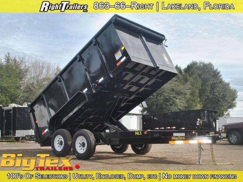 7x14 Big Tex | Dump Trailer [High Side]