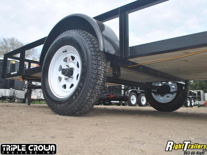5x10 Triple Crown Utility Trailer Szdb on 5x10 dump trailers