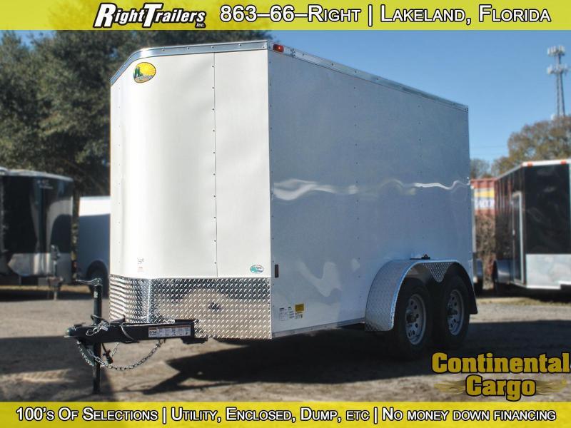 6x12 Sunshine Cargo   Enclosed Trailer [Tandem Axle]