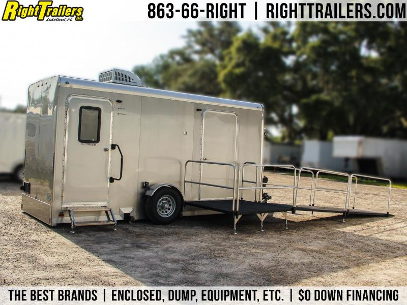 2018 Forest River Inc. 3 Stall ADA Restroom Trailer