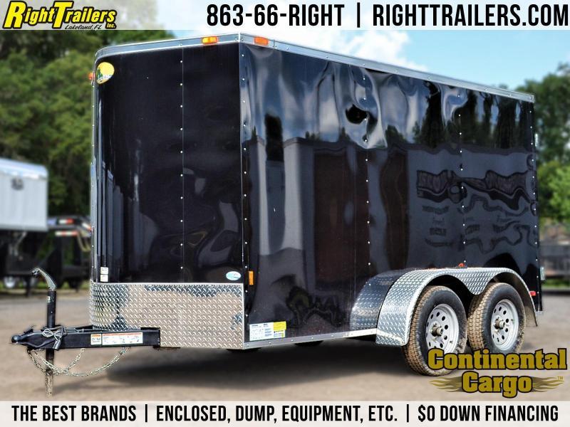 6x12 Forest River   Enclosed Trailer [Black]