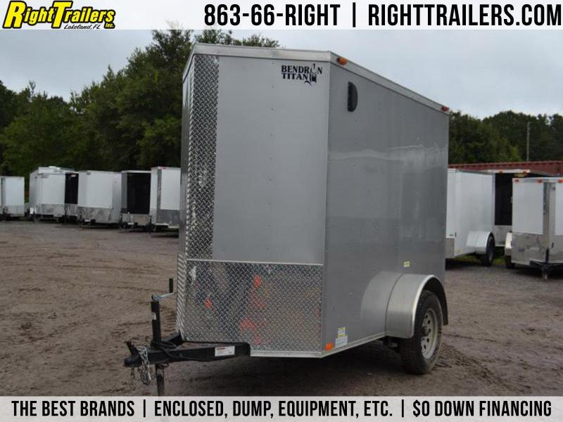 2016 USED 5x8 Bendron Titan | Enclosed Trailer