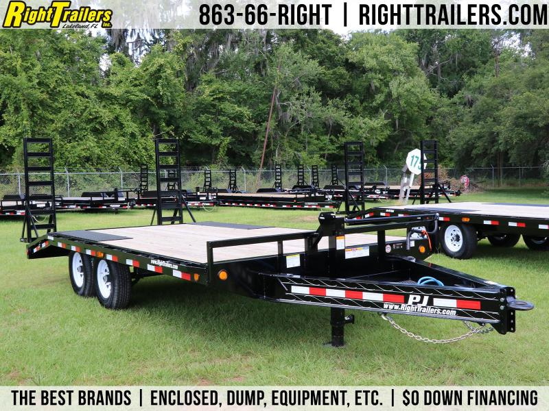 8.5x17 PJ Trailers | Equipment Trailer