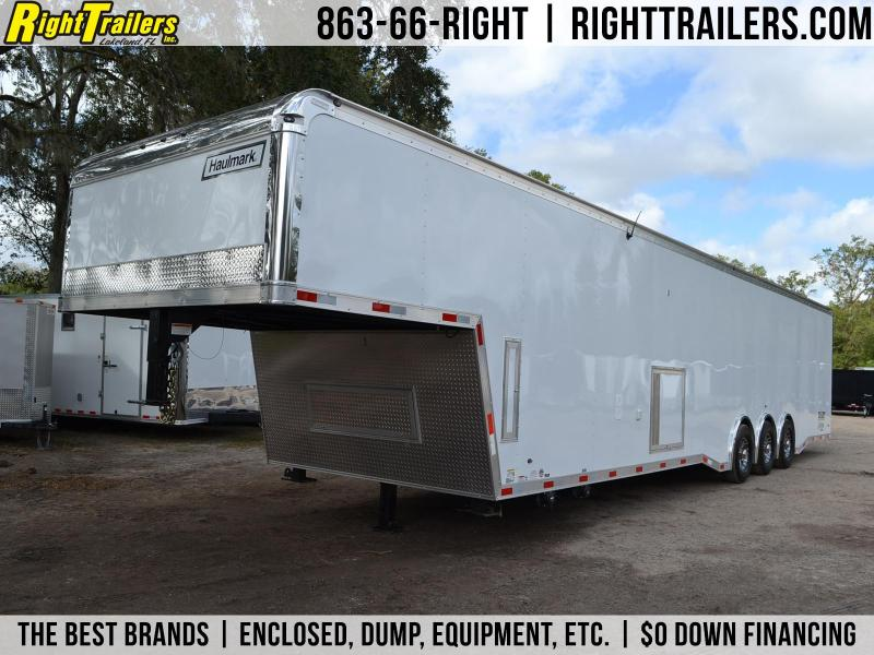 44' Haulmark | Edge Pro | Living Quarters Trailer