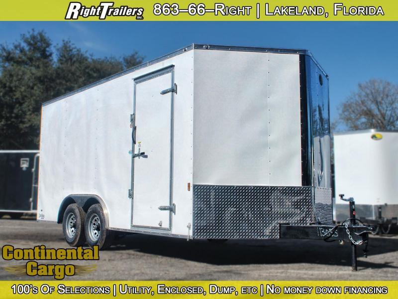 8.5x16 Forest River   Enclosed Trailer