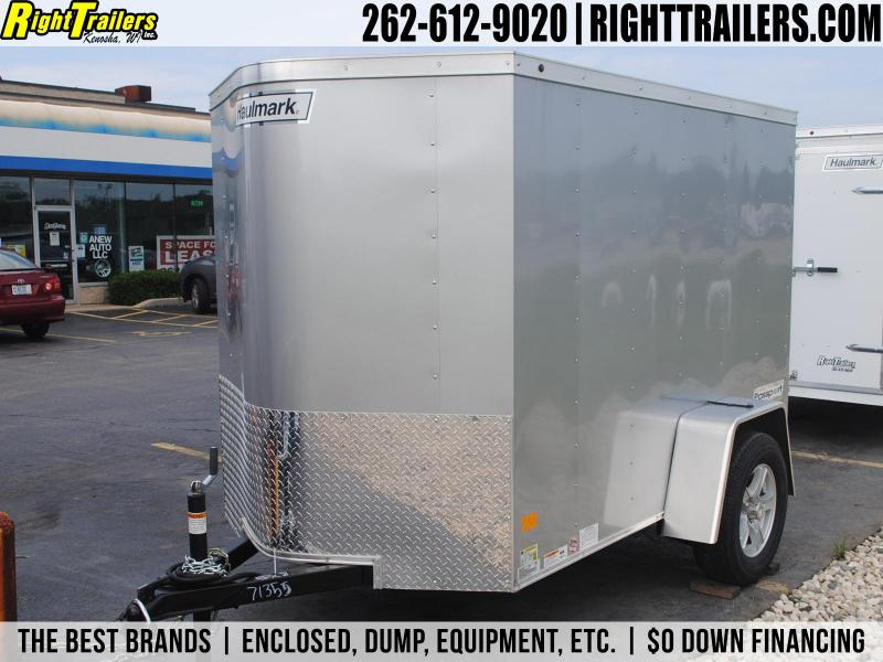 5x8 Haulmark Passport | Enclosed Trailer [Silver]