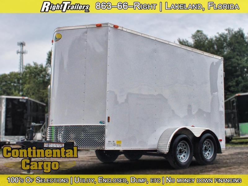 6x12 Sunshine Cargo   Enclosed Trailer
