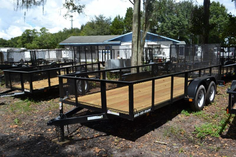 6x12 Triple Crown | Utility Trailer with 2' Mesh Sides