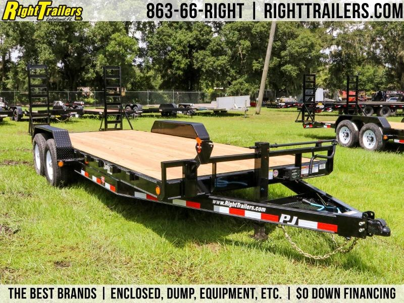 7x20 PJ Trailers| Car / Racing Trailer
