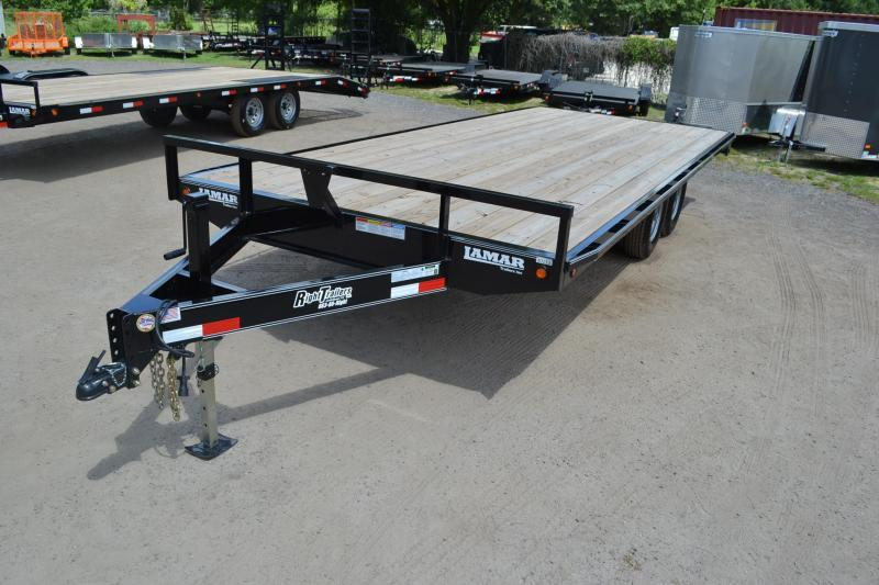 8.5x20 Lamar Trailers | Equipment Trailer [Deck Over]