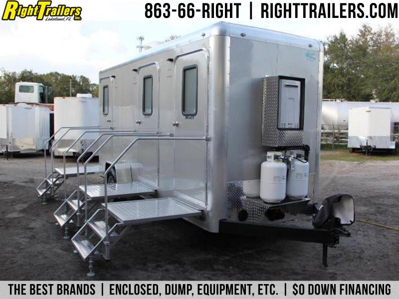 3 Station Restroom & Shower Trailer