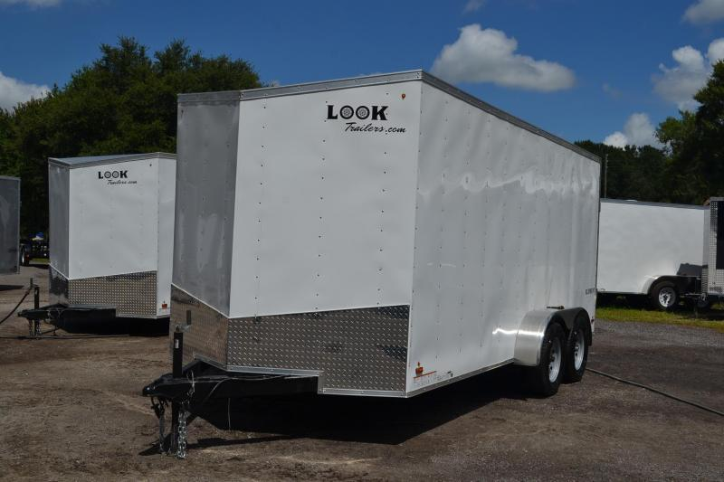 7x16 Look | Enclosed Trailer with Extra Height