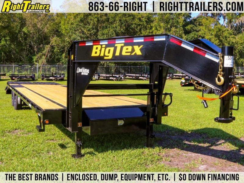 8.5x30 Big Tex Trailers | Gooseneck Equipment Trailer