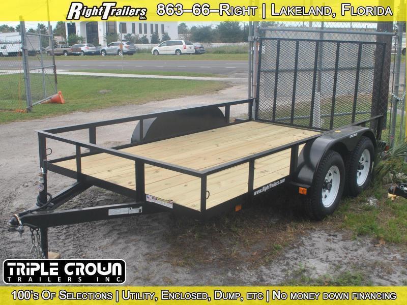 6x12 Triple Crown | Utility Trailer (Tandem Axle)