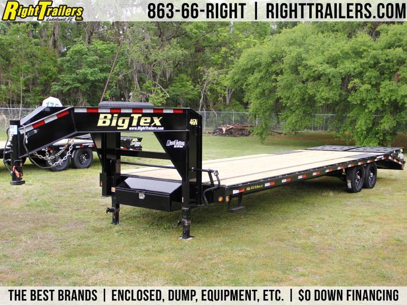 8.5x30 Big Tex Trailers | Equipment Trailer [14GN]