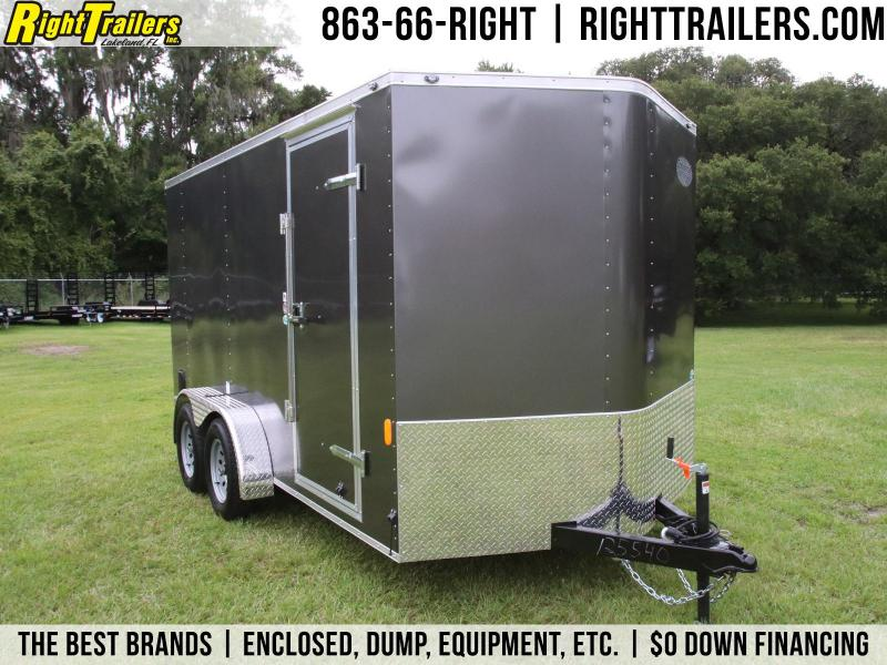 7x14 Continental Cargo| Enclosed Trailer