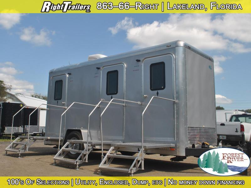 3 Station Restroom Trailer