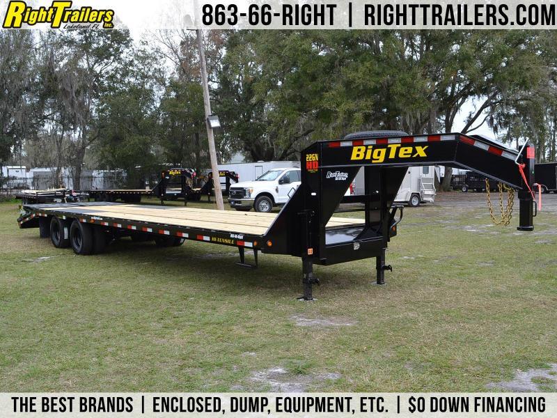 8.5x33 Big Tex Trailers   Equipment Trailer [Gooseneck]