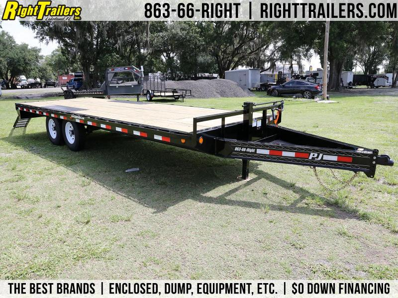 8x22 PJ Trailers | Deck Over Equipment Trailer