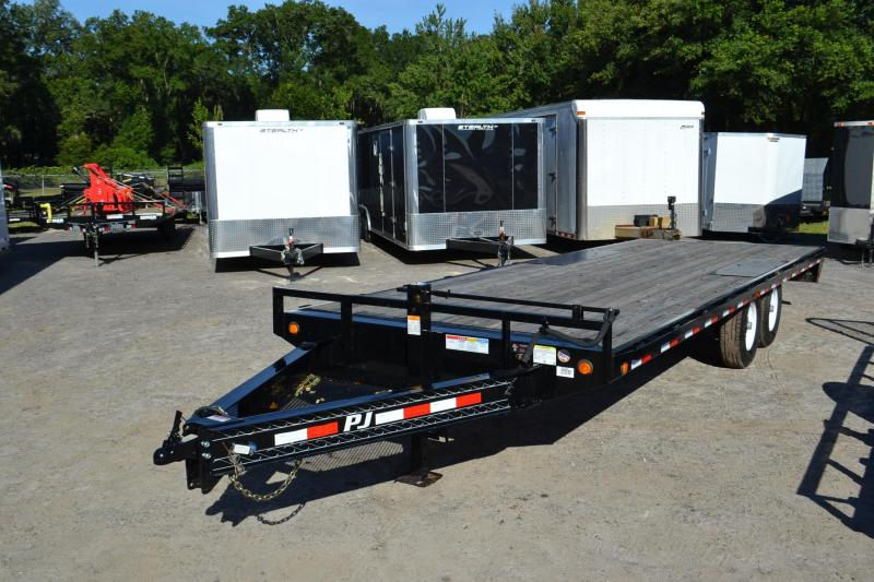 8.5X22 PJ Trailers Equiptment Trailer