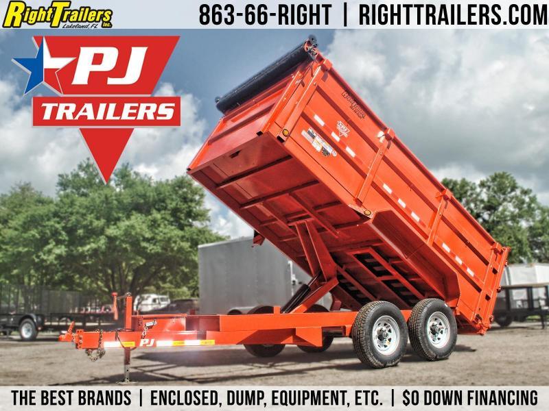 7x14 PJ Trailers | Dump Trailer (High Side)