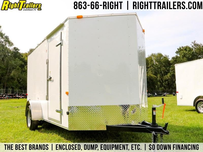 2020 Red Hot Trailers RV6141 Enclosed Cargo Trailer