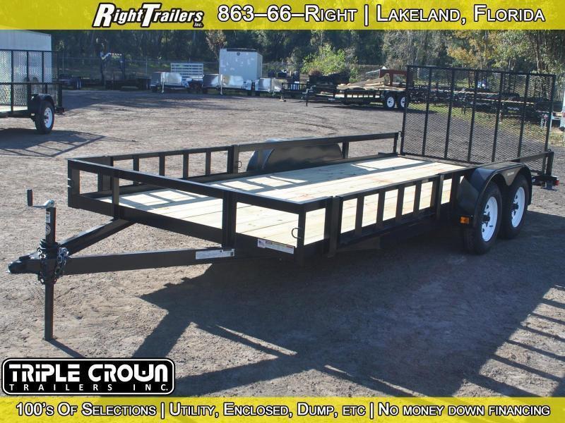 7x18 Triple Crown Trailers | Utility/ATV Trailer