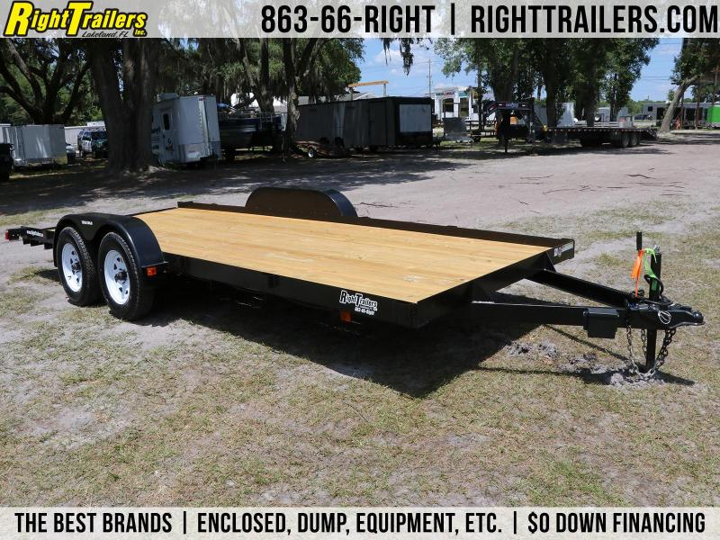 7x18 Triple Crown Trailers | Car Hauler Equipment Trailer