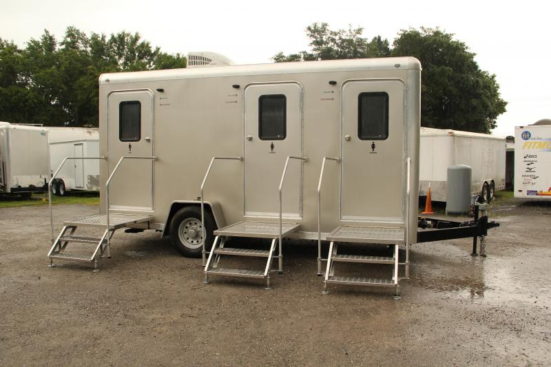 Three Station VIP Restroom Trailer