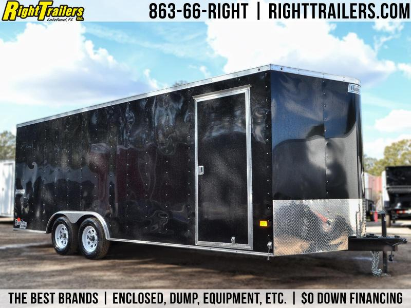 8.5x20 Haulmark | Enclosed Trailer [Black]