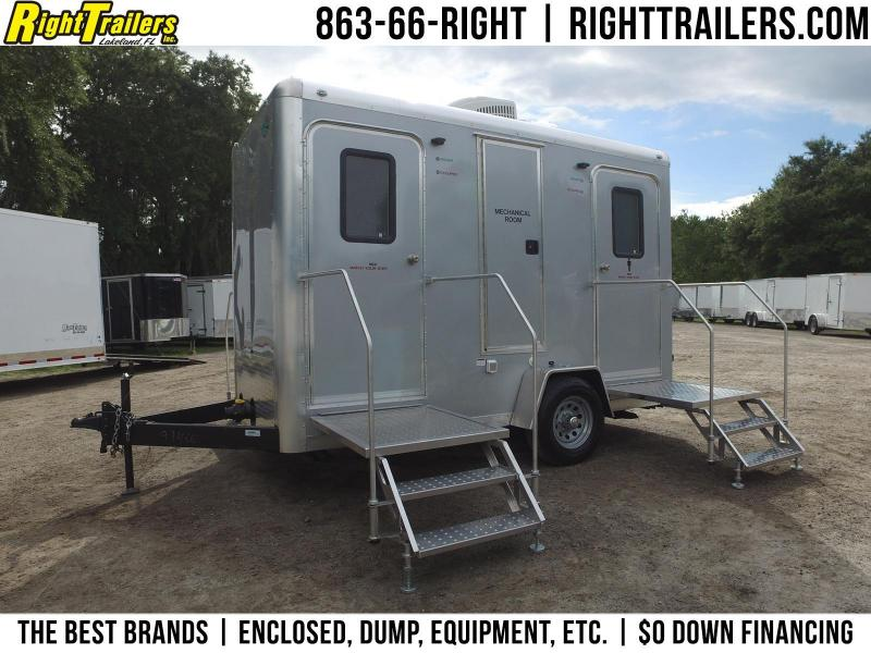 MENS - Four Station Restroom Trailer (Rental)