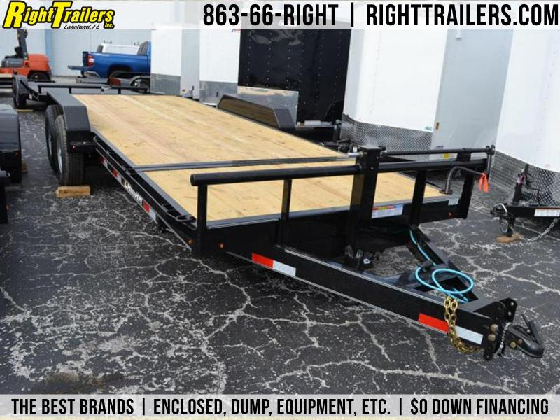 7x20 7 TON TILT DECK EQUIPMENT TRAILER 16+4