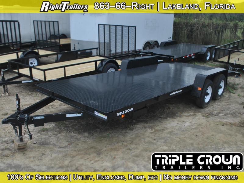 USED: 7x20 Triple Crown | Equipment Trailer