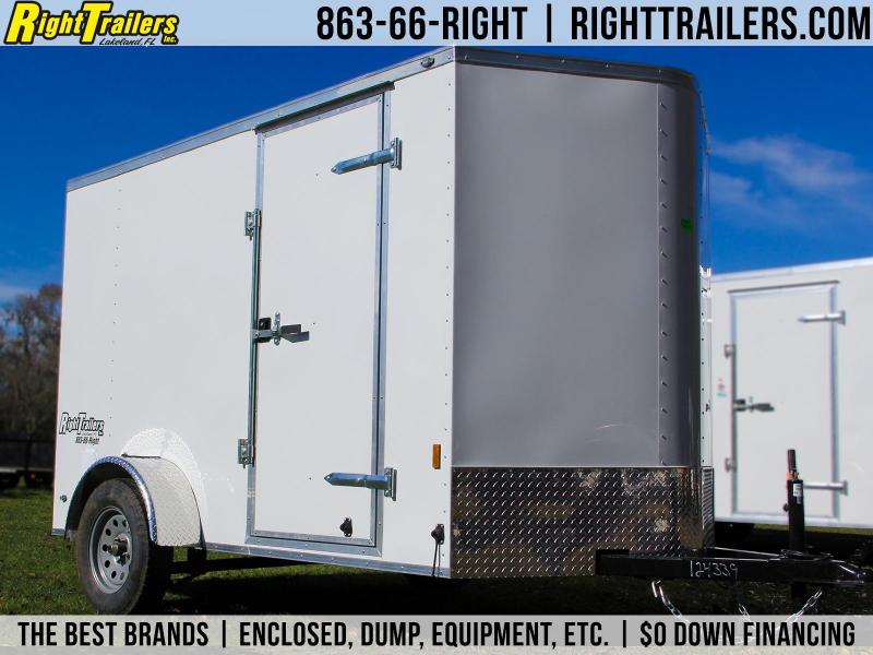 6x10 Continental Cargo Enclosed Trailer