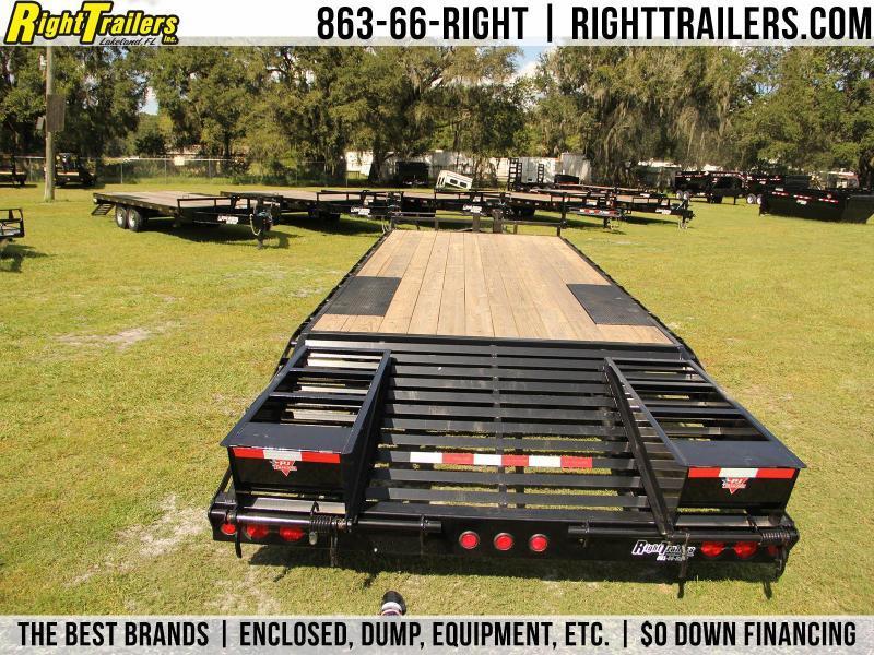 8x25 PJ Trailers | Equipment Trailer