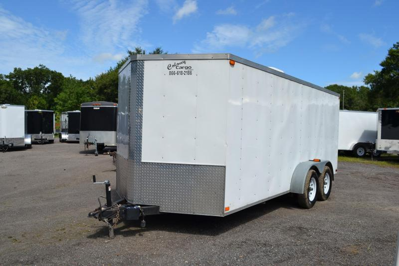2008 Used 7x16 Colony Cargo | Enclosed Trailer