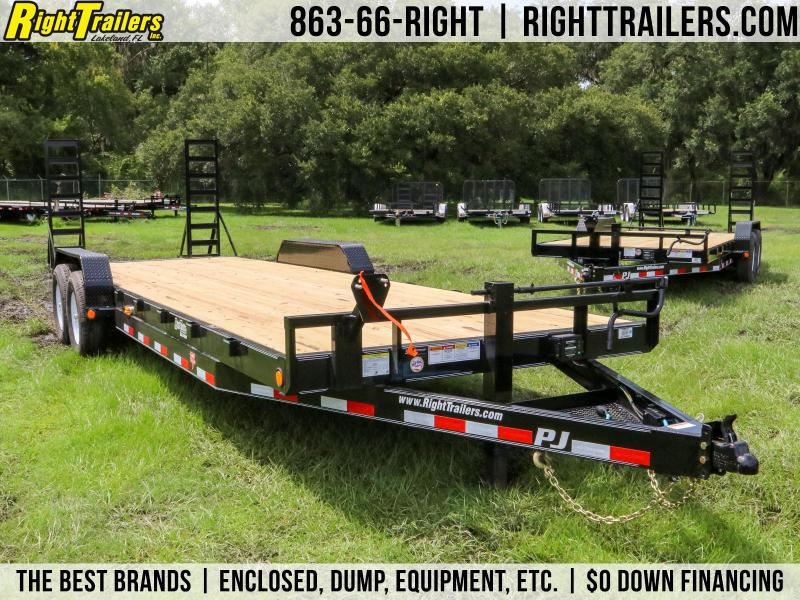 7x24 PJ Trailers | Car / Racing Trailer