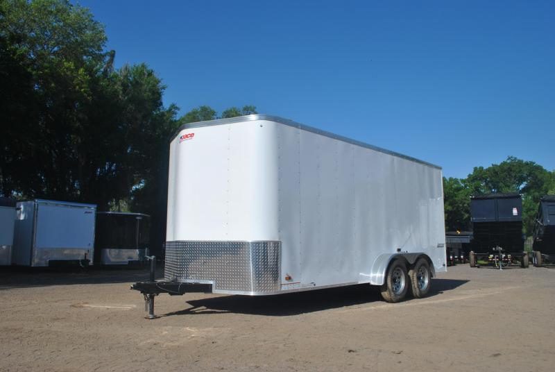 7x16 Pace American   Enclosed Trailer