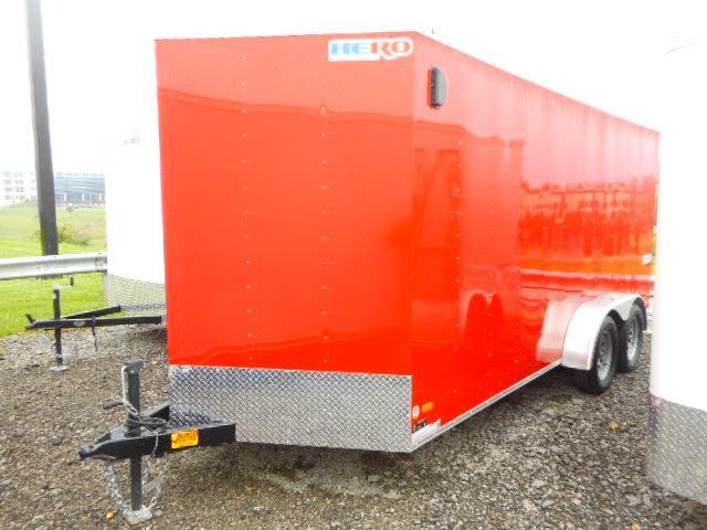 2019 Bravo Trailers Hero 7x16 Tandem Axle Enclosed Cargo Trailer