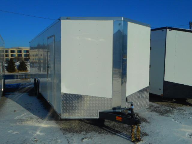 2019 Spartan 8.5 X 24 Tandem Axle Enclosed Cargo Trailer