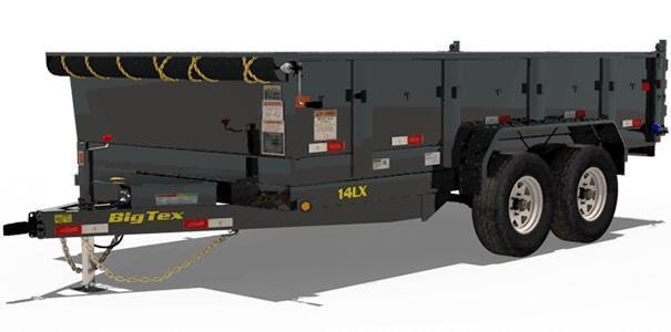 2020 Big Tex Trailers 14LX 83 X 12 Dump Trailer
