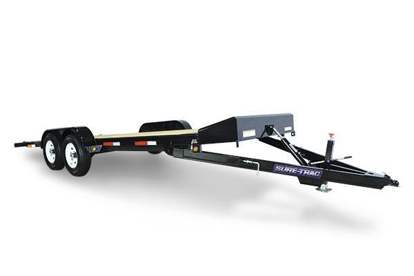 2018 Sure-Trac 7 X 20 10K Tilt Bed Car Hauler Car / Racing Trailer