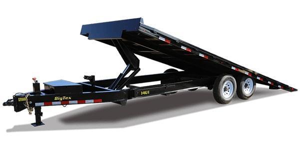 2020 Big Tex Trailers 14OT 102 X 24 Power Tilt Equipment Trailer