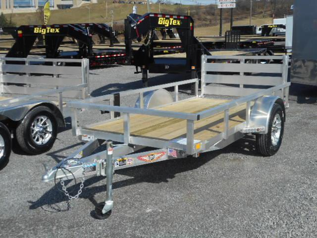 2018 H and H Trailer 5x10 Railside Aluminum Utility Trailer