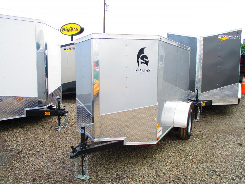 2019 Spartan 5 X 8 Enclosed Cargo Trailer