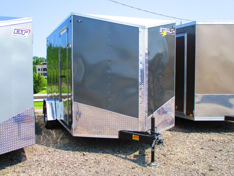 2020 Stealth Trailers 7 X 12 Enclosed Cargo Trailer