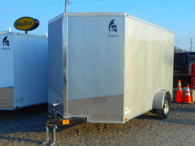 2019 Spartan 7 X 12 Single Axle Enclosed Cargo Trailer
