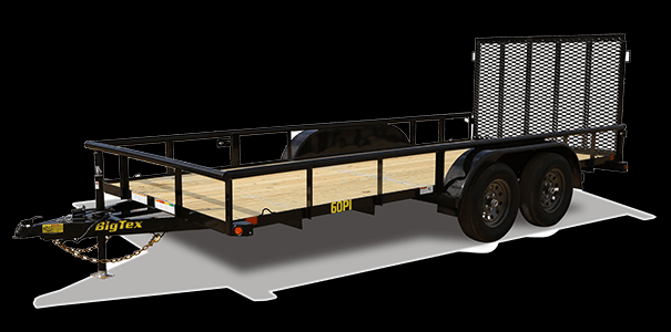 2019 Big Tex Trailers 70PI 83'' X 20' Utility Trailer