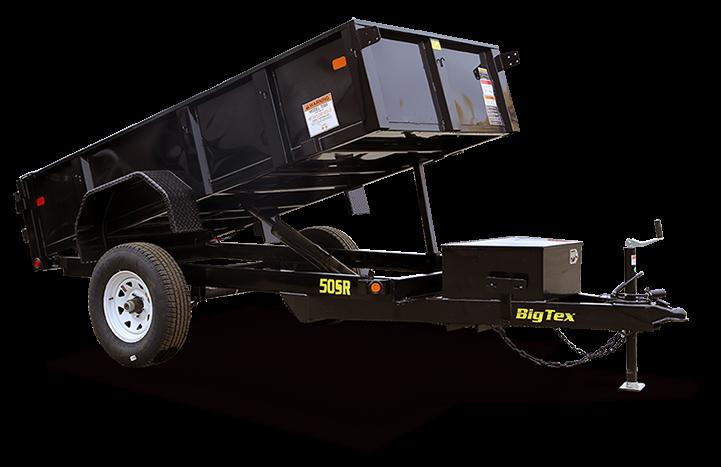 2019 Big Tex Trailers 50SR 5x8 Single Axle Dump Trailer