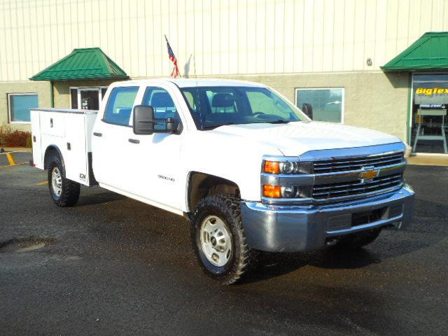 2015 Chevrolet 2500 HD 4-door Crewcab 4X4 with 107066 miles